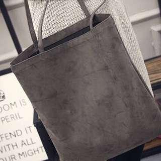 [$10 MAILED!] Grey Tote Bag