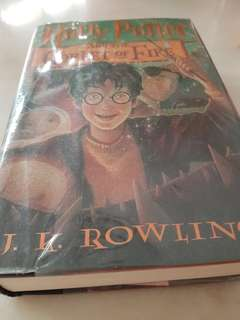 Hard cover Harry Potter