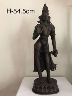 A Indian/south-east Asian exceptional Bronze Figure