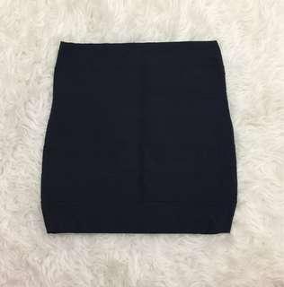 bandage skirt (navy blue)