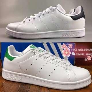 Adidas Stan Smith (white/Dark Blue, White/Green)