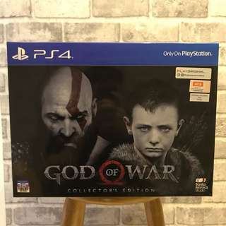 [BNIB] PS4 God Of War 4 Game (Collector's Edition)