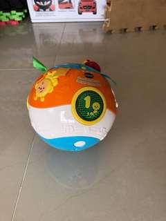Vtech 啟蒙早教寶寶玩具 炫彩聲光滾滾球