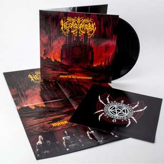 Necrophobic ‎– Mark Of The Necrogram Deluxe LP Vinyl