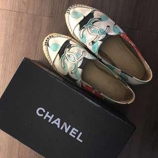 Chanel Flats White 草鞋