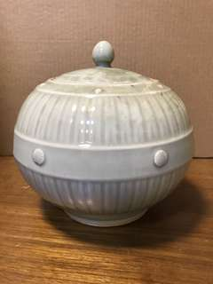 旧瓷器,單色釉罐子,高18cm寬20cm *Items Sold Are Non-Returnable & Refundable.