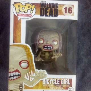 FUNKO POP! THE WALKING DEAD: BICYCLE GIRL