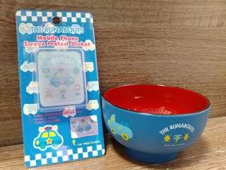 Sanrio Runabouts車仔 手機貼&碗