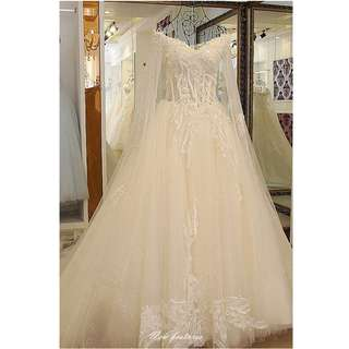 Wedding Collection - Fantasy Princess Style Grand Wedding Gown
