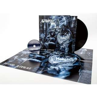Samael ‎– Blood Ritual Limited Edition LP Vinyl + CD