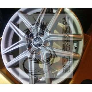 Lexus 18吋 原廠鋁圈 前後配 8J/8.5J ET45/50 精美無傷全新拆車 限量一組