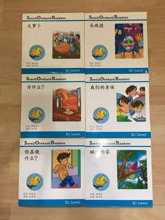 Chinese Readers for preschoolers (12 books)