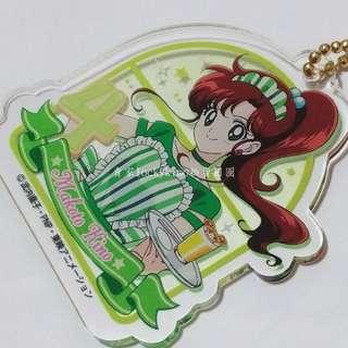 【美少女戰士 咖啡廳 壓克力 吊飾 吊牌 水手木星 木野真琴 日本 金證】珊珊 木星仙子 Sailor Jupiter