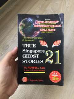 True Singapore Ghost Stories Book 21 [With Autograph!]