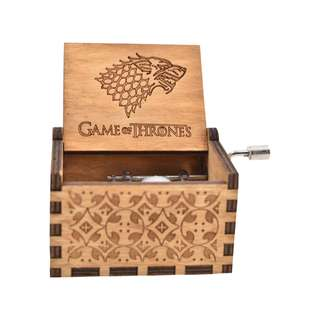 Games of Thrones Winter is Coming Logo Collectible Music Box (Brown