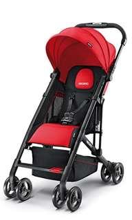 Recaro stroller / pram - Ruby with black frame