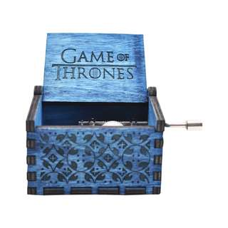 Games of Thrones Collectible Music Box (Blue)