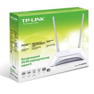 BNIB - TPLINK 3G/4G Wireless N Router (TL-MR3420)