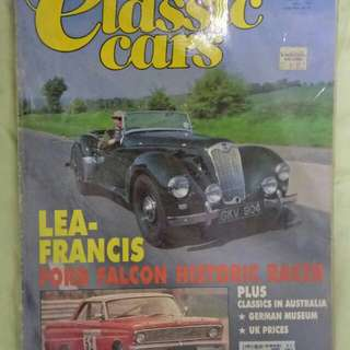 Throughbred classic cars 1993 magazine