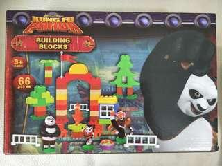 BNIB Building Blocks for kids - Kungfu Panda