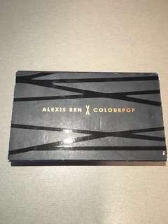 Colourpop x Alexis Ren || Topaz Palette