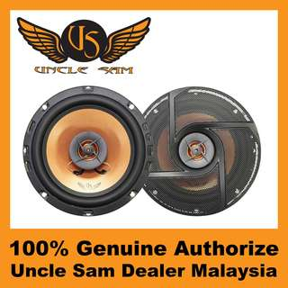 "Uncle Sam 6.5"" 2-WAY COAXIAL SPEAKER"