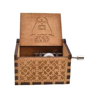 Star Wars Collectible Music Box (Brown)