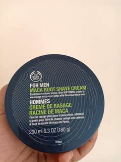 Maca Root Save Cream The Body Shop
