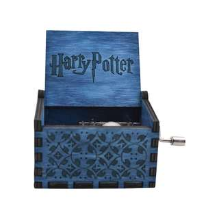 Harry Potter Collectible Music Box (Blue)