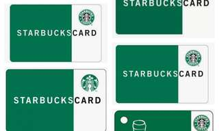 Starbucks Card w/ 10,000 load