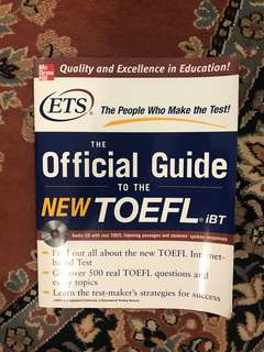 Official Guide to the New TOEFL