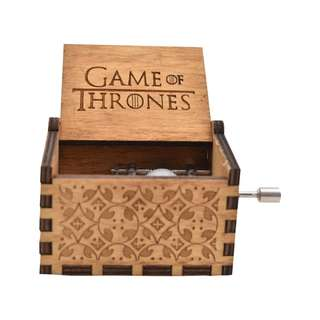 Games of Thrones Collectible Music Box (Brown)