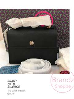 ✅SALE! 💯% Authentic Tory Burch Parker Small Satchel Sling Bag @ Ready Stock!!!