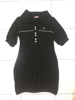 For sale 🌹 Black Dress with sleeves and collar