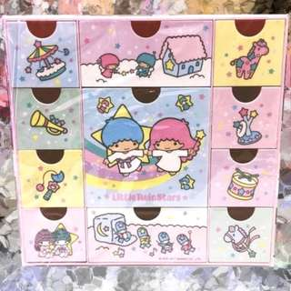 Sanrio Little Twin Stars 11 drawer chest ( back to 1980's ) - original