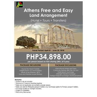 Athens Free and Easy Land Arrangement