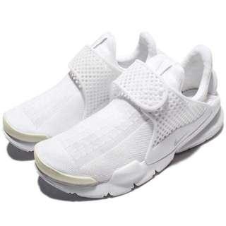 🚚 Nike sock dart 白色