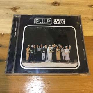 CD Pulp - Different Class