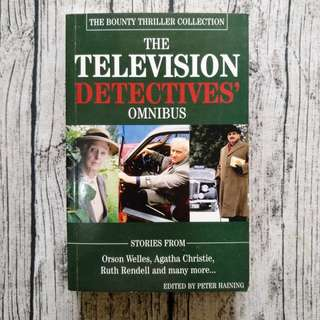 USED BOOK The Television Detectives' Omnibus