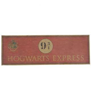 Harry Potter 9 3/4 Hogwarts Express Poster