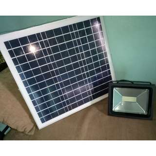 Solar Timer Floodlight 30w