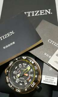 Citizen Promaster Sea BN2025-02E 2014年7月購入  95% New  跟盒,說明書,保養証