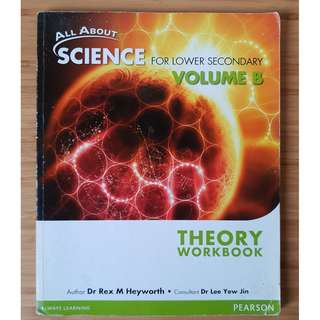 All About Science For Lower Secondary Volume B Theory Workbook