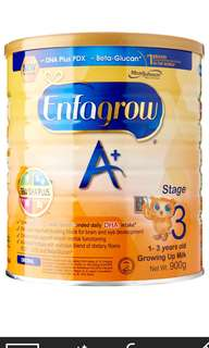 Milk Powder-Enfagrow stage 3