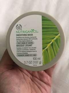 Body Shop Nutriganics Smoothing Mask