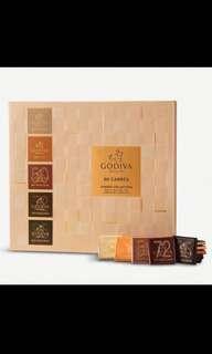 Selfridges代購 Godiva巧克力60片裝