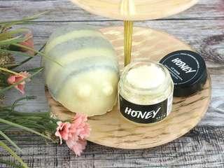 Honey Lipscrub and bodyscrub