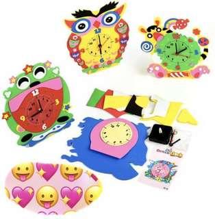 DIY children's clock