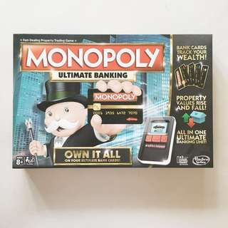 • MONOPOLY Ultimate Banking