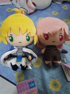 Fate Grand Order Plush Keychains